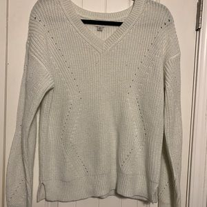 A New Day White Sweater! Size medium!